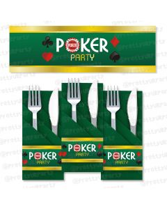 poker napkin rings