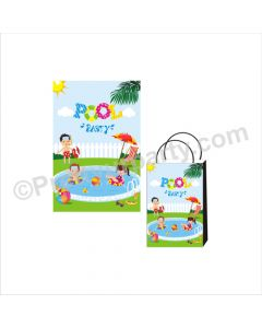 Pool Party Theme Khoi Bag / Pinata