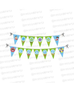 pool party bunting