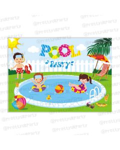 pool party table mats