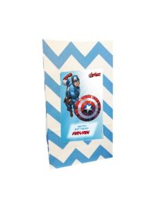 Captain America Popcorn Bag
