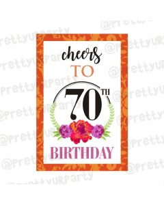 70th Birthday Poster 03