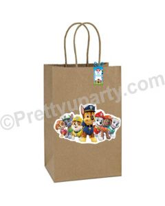 Paw Petrol Theme Gift Bags - Pack of 10