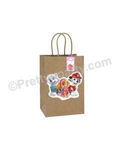 Paw Petrol Gift Bags - Pack of 10