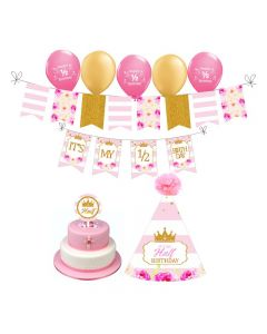 Princess Half Birthday Decorations