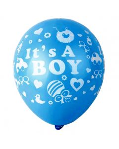 Printed Latex Balloon- Its a Boy