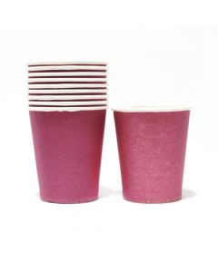 Purple Paper Cups