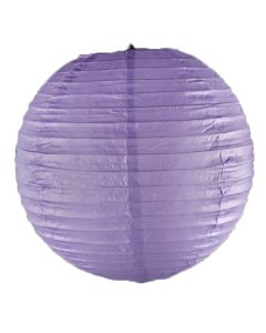 Purple Round Paper Lamps