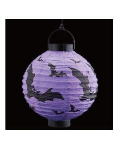 Halloween Purple Paper Lamps