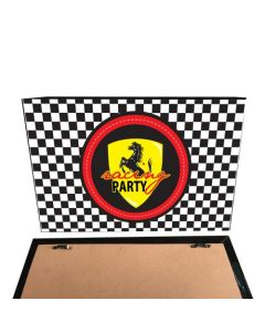 Race Car Party Theme Pinboard