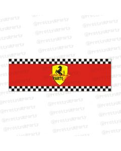 race car party theme wrist bands