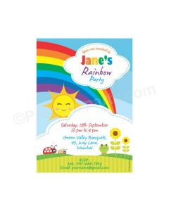 Rainbow E-Invitations