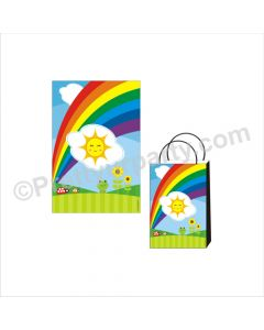Rainbow Theme Khoi Bag / Pinata
