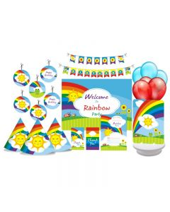 Rainbow Party Decorations