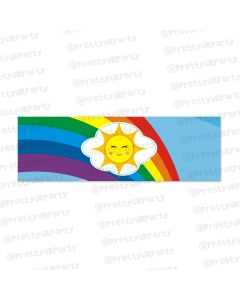rainbow themed wrist bands