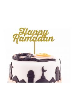Happy Ramadan Cake Topper