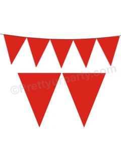 Red Plain Bunting