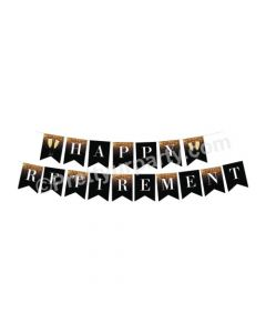 Retirement Theme Bunting