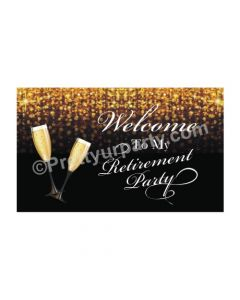 Retirement Entrance / Welcome Banner