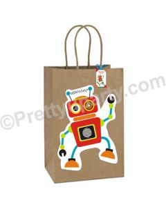 Robot Theme Gift Bags - Pack of 10