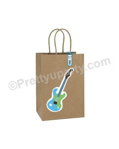 Rockstar Theme Gift Bags - Pack of 10