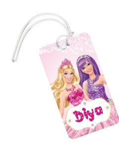 Barbie Rockstar Theme Luggage Tag