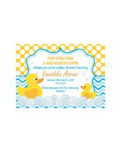 Rubber Ducky E-Invitations