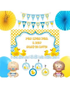 Rubber Ducky Baby Shower Party Decorations