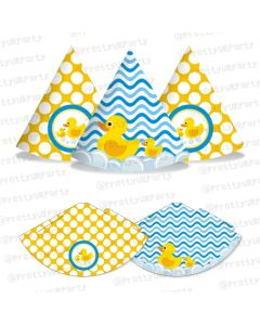 Rubber Ducky Party Hats