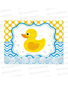rubber ducky tablemats