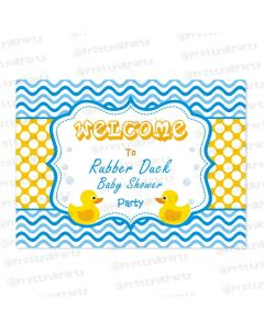 Rubber Ducky Entrance Banner / Door Sign