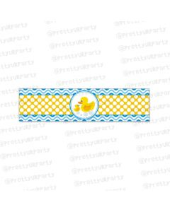 Rubber Ducky Wrist Bands