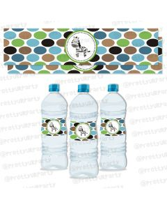 safari boy water bottle labels