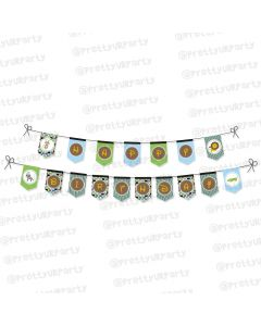 safari boy bunting