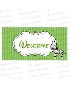 safari boy entrance banner / door sign