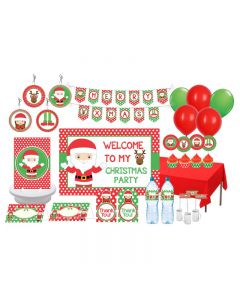 Santa's Friends  Theme Package