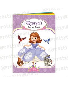 Sofia the 1st Inspired Scrap Book