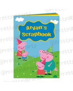 Peppa Pig inspired Scrap Book