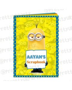 Despicable Me Minions Scrap Book