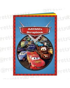 Disney Cars Inspired Scrap Book