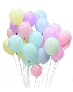 Pastel Balloons - Mixed Colours