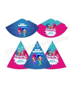 Shimmer and Shine Theme Hats