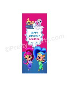 Shimmer and Shine Theme Door Banner