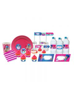 Shimmer and Shine Tableware Package