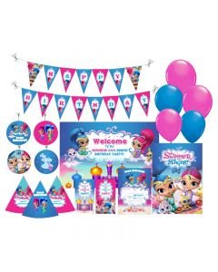 Shimmer and Shine Party Decorations