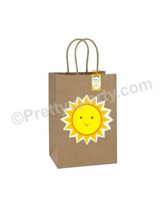 Sunshine Theme Gift Bags - Pack of 10