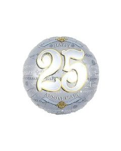 "Anagram 18"" 25th Anniversary Balloon"
