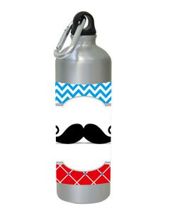 Personalised Moustache Sippers / Waterbottles
