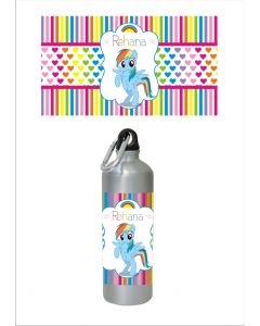 Personalised My Little Pony Sippers / Waterbottles