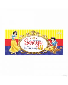Personalized Snow White Theme Banner 30in